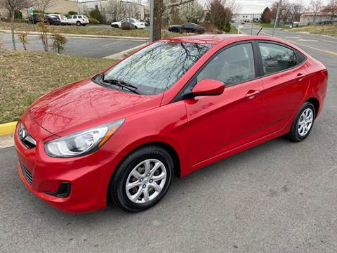 2014 Hyundai Accent for sale at Dreams Auto Group LLC in Sterling VA