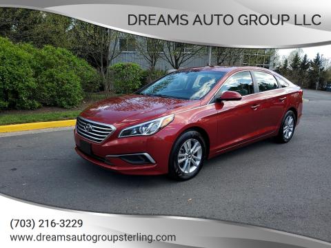 2016 Hyundai Sonata for sale at Dreams Auto Group LLC in Sterling VA