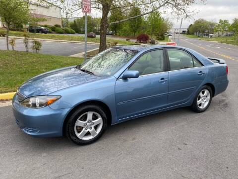 2002 Toyota Camry for sale at Dreams Auto Group LLC in Sterling VA