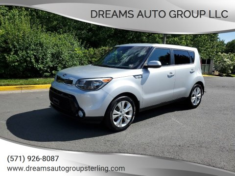 2016 Kia Soul for sale at Dreams Auto Group LLC in Sterling VA