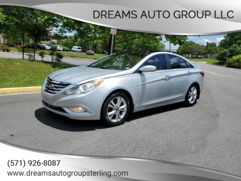 2012 Hyundai Sonata for sale at Dreams Auto Group LLC in Sterling VA