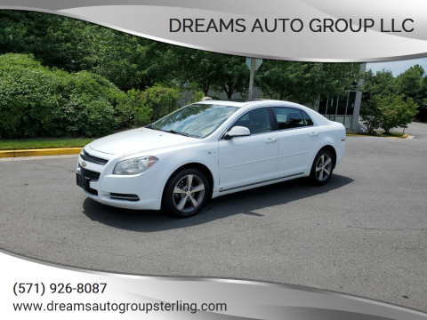 2009 Chevrolet Malibu Hybrid for sale at Dreams Auto Group LLC in Sterling VA