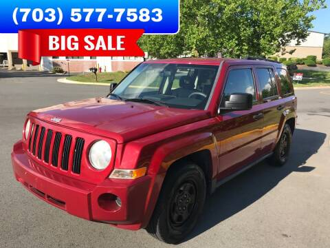 2008 Jeep Patriot for sale at Dreams Auto Group LLC in Sterling VA