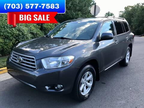 2010 Toyota Highlander for sale at Dreams Auto Group LLC in Sterling VA