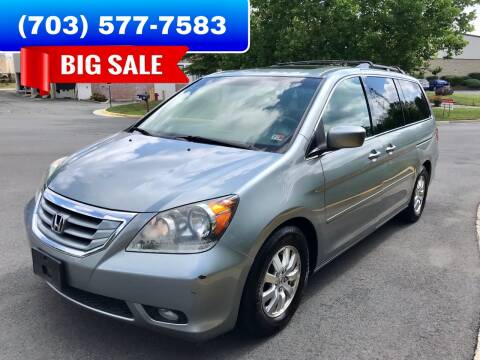 2008 Honda Odyssey for sale at Dreams Auto Group LLC in Sterling VA