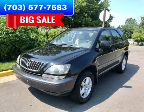 2000 Lexus RX 300 for sale at Dreams Auto Group LLC in Sterling VA