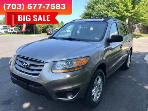 2011 Hyundai Santa Fe for sale at Dreams Auto Group LLC in Sterling VA