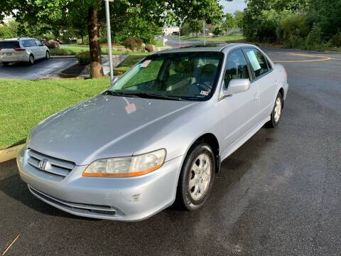 2001 Honda Accord for sale at Dreams Auto Group LLC in Sterling VA