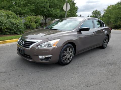 2015 Nissan Altima for sale at Dreams Auto Group LLC in Sterling VA