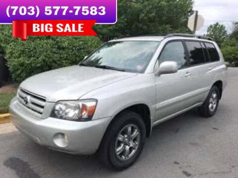 2005 Toyota Highlander for sale at Dreams Auto Group LLC in Sterling VA