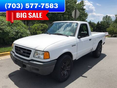 2003 Ford Ranger for sale at Dreams Auto Group LLC in Sterling VA