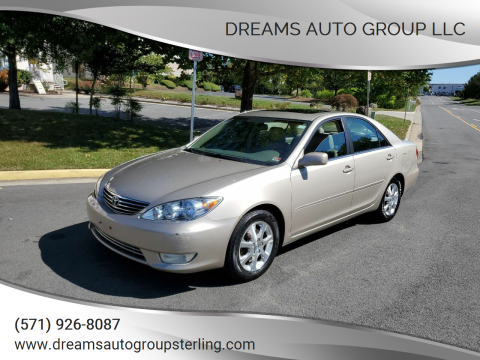 2006 Toyota Camry for sale at Dreams Auto Group LLC in Sterling VA