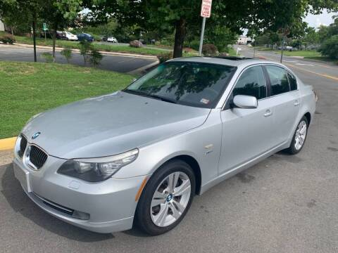 2009 BMW 5 Series for sale at Dreams Auto Group LLC in Sterling VA