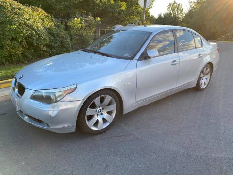 2004 BMW 5 Series for sale at Dreams Auto Group LLC in Sterling VA