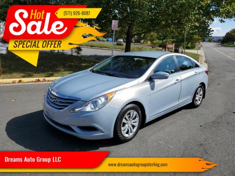 2013 Hyundai Sonata for sale at Dreams Auto Group LLC in Sterling VA