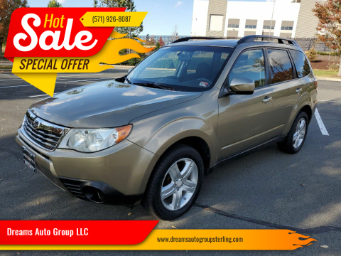 2009 Subaru Forester for sale at Dreams Auto Group LLC in Sterling VA