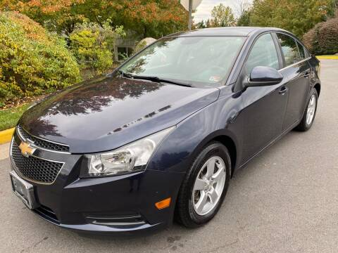2014 Chevrolet Cruze for sale at Dreams Auto Group LLC in Sterling VA