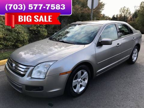 2009 Ford Fusion for sale at Dreams Auto Group LLC in Sterling VA
