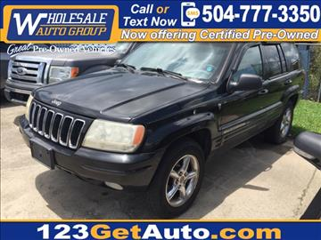 2001 Jeep Grand Cherokee for sale in Kenner, LA