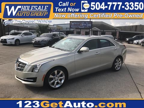 2015 Cadillac ATS for sale in Kenner, LA