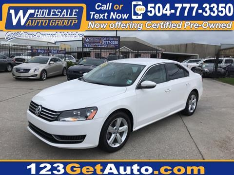 2012 Volkswagen Passat for sale in Kenner, LA