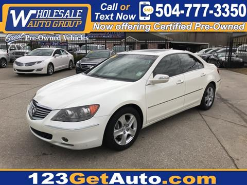 Used Acura RL For Sale In Chicago IL Carsforsalecom - Used acura rl