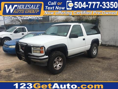 1993 GMC Yukon for sale in Kenner, LA