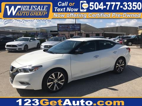 Car Lots In Kenner >> 2017 Nissan Maxima For Sale In Kenner La