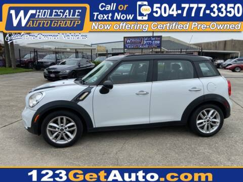 2012 MINI Cooper Countryman S for sale at WHOLESALE AUTO GROUP in Kenner LA
