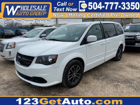 2016 Dodge Grand Caravan for sale at WHOLESALE AUTO GROUP in Kenner LA