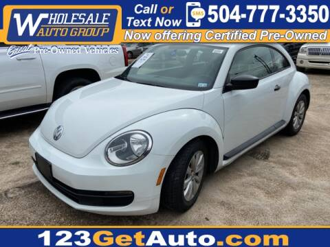 2016 Volkswagen Beetle for sale at WHOLESALE AUTO GROUP in Kenner LA