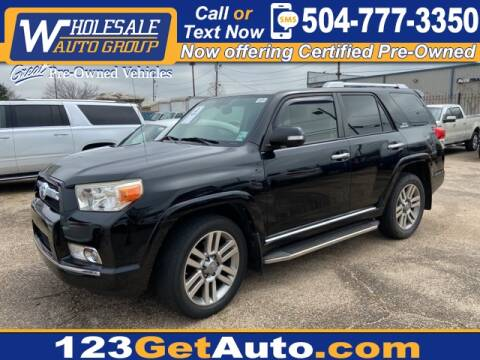 2013 Toyota 4Runner Limited for sale at WHOLESALE AUTO GROUP in Kenner LA
