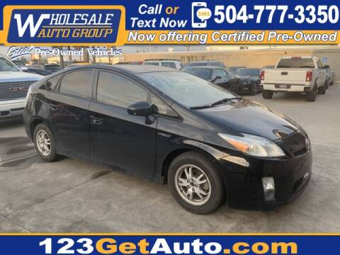 2010 Toyota Prius IV for sale at WHOLESALE AUTO GROUP in Kenner LA