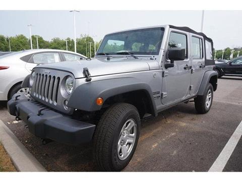 2018 Jeep Wrangler Unlimited for sale in Knoxville, TN