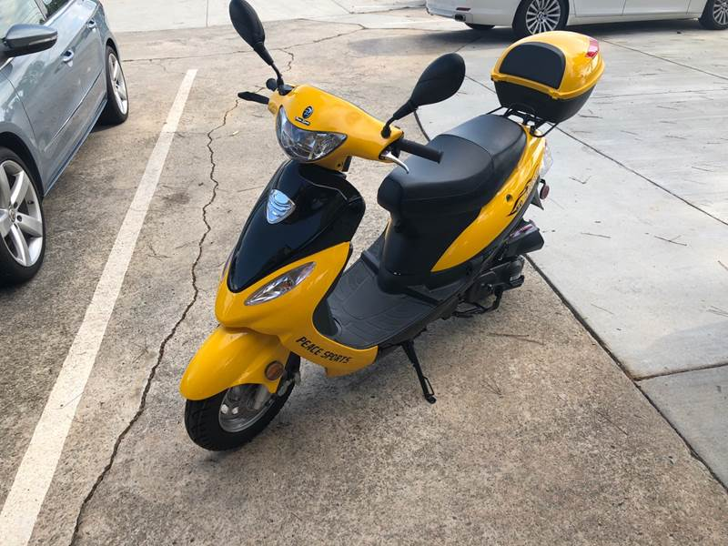 2018 Peace Sports  Scooter50CC