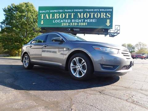 2013 Ford Taurus for sale in Battle Creek, MI