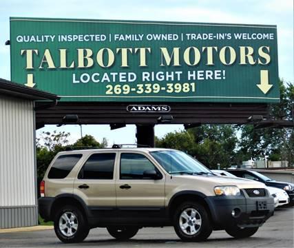 2007 Ford Escape for sale in Battle Creek, MI