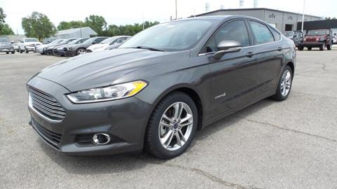2015 Ford Fusion Hybrid for sale in Independence, KS