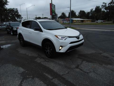 2018 Toyota RAV4 SE for sale at Ratchet Motorsports in Gibsonton FL