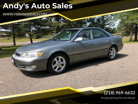 2000 Lexus ES 300 for sale at Andy's Auto Sales in Hibbing MN
