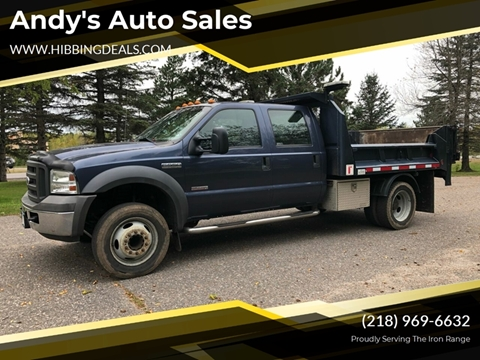 2005 Ford F-550 Super Duty for sale at Andy's Auto Sales in Hibbing MN