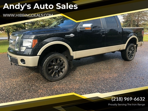 2009 Ford F-150 King Ranch for sale at Andy's Auto Sales in Hibbing MN