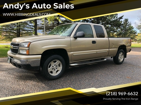 2007 Chevrolet Silverado 1500 Classic LT1 for sale at Andy's Auto Sales in Hibbing MN
