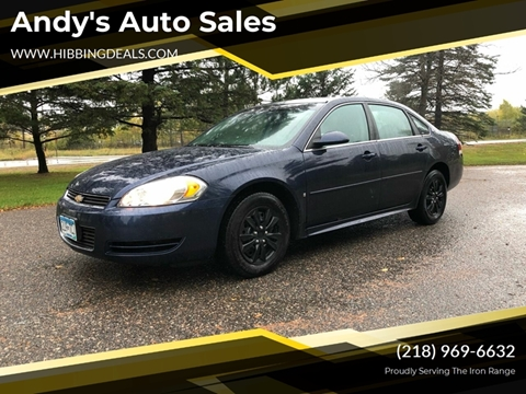 2009 Chevrolet Impala LS for sale at Andy's Auto Sales in Hibbing MN