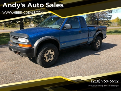 2000 Chevrolet S-10 LS Wide Stance for sale at Andy's Auto Sales in Hibbing MN