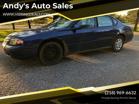 2005 Chevrolet Impala for sale at Andy's Auto Sales in Hibbing MN