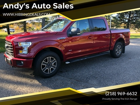 2016 Ford F-150 XLT for sale at Andy's Auto Sales in Hibbing MN