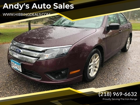 2012 Ford Fusion S for sale at Andy's Auto Sales in Hibbing MN