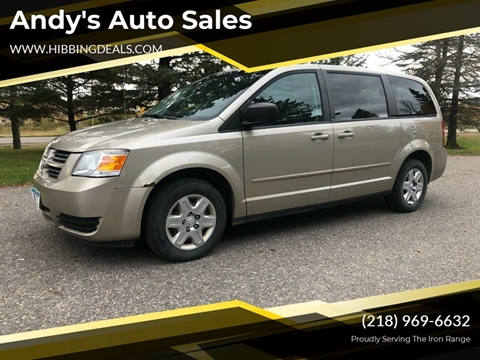 2009 Dodge Grand Caravan SE for sale at Andy's Auto Sales in Hibbing MN