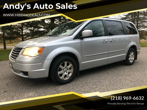 2008 Chrysler Town and Country Touring for sale at Andy's Auto Sales in Hibbing MN